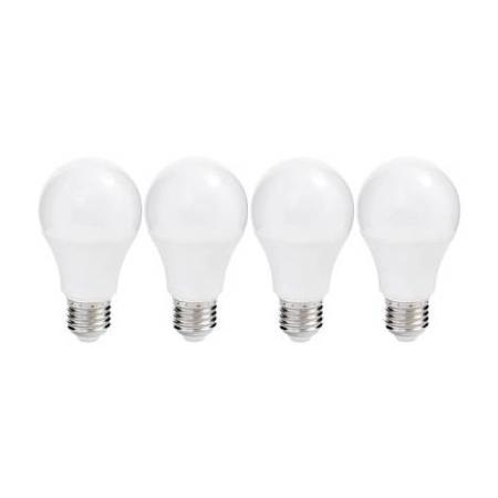 LOT DE 4 AMPOULES LED STANDARD E27 - 10W  - 810 Lm