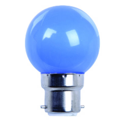 AMPOULE LED B22 SPHERIQUE - 220V - DECORATION - COULEUR
