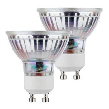 LOT DE 2 AMPOULES LED GU10 - 5W