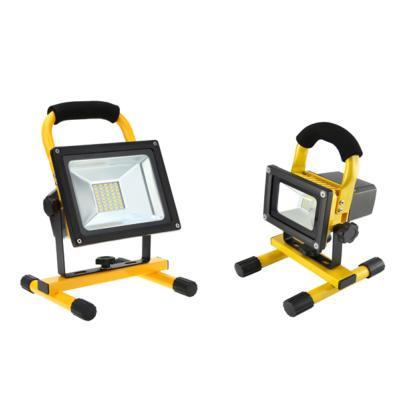 projecteur led portable 20w rechargeable sur batterie. Black Bedroom Furniture Sets. Home Design Ideas