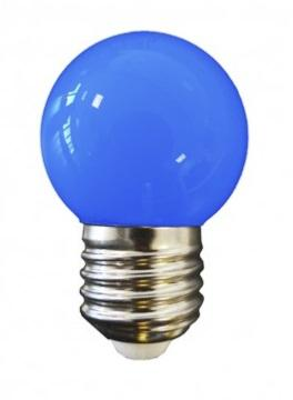 AMPOULE LED E27 SPHERIQUE - 220V - DECORATION - COULEUR